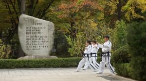 Съемка в Корее