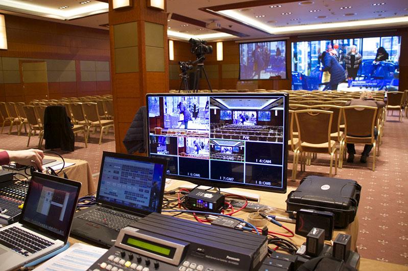 Многокамерная съемка - видеотрансляция TodayProduction