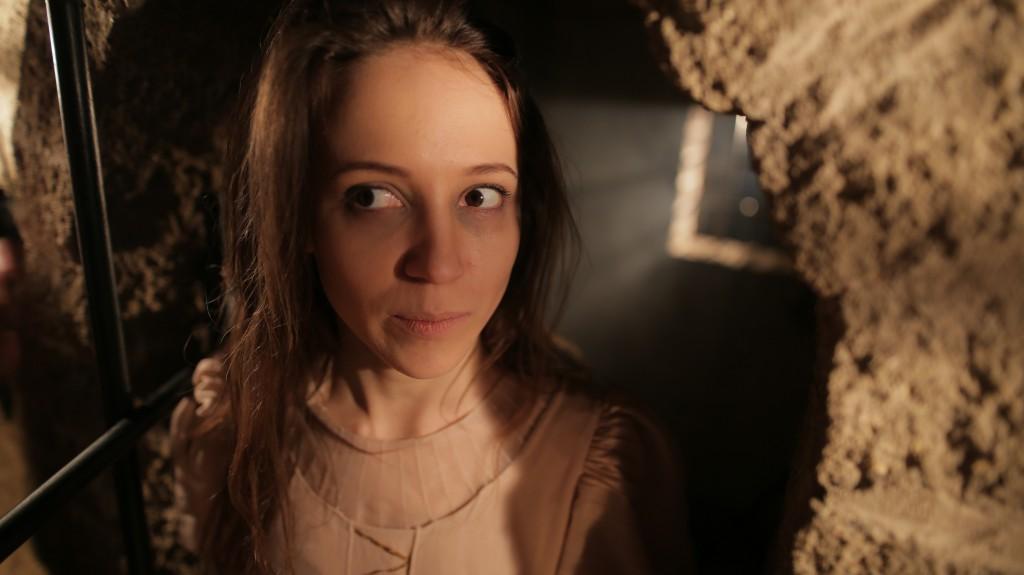 Фотографии рекламного ролика про квест Клаустрофобия - TodayProduction