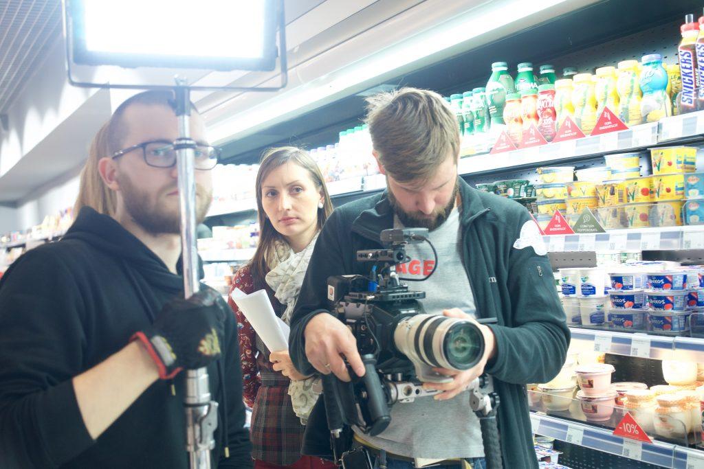 Анастасия Пастори снимает корпоративный сериал