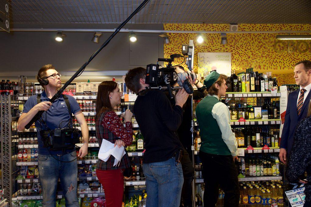 Снимаем корпоративный сериал в магазине