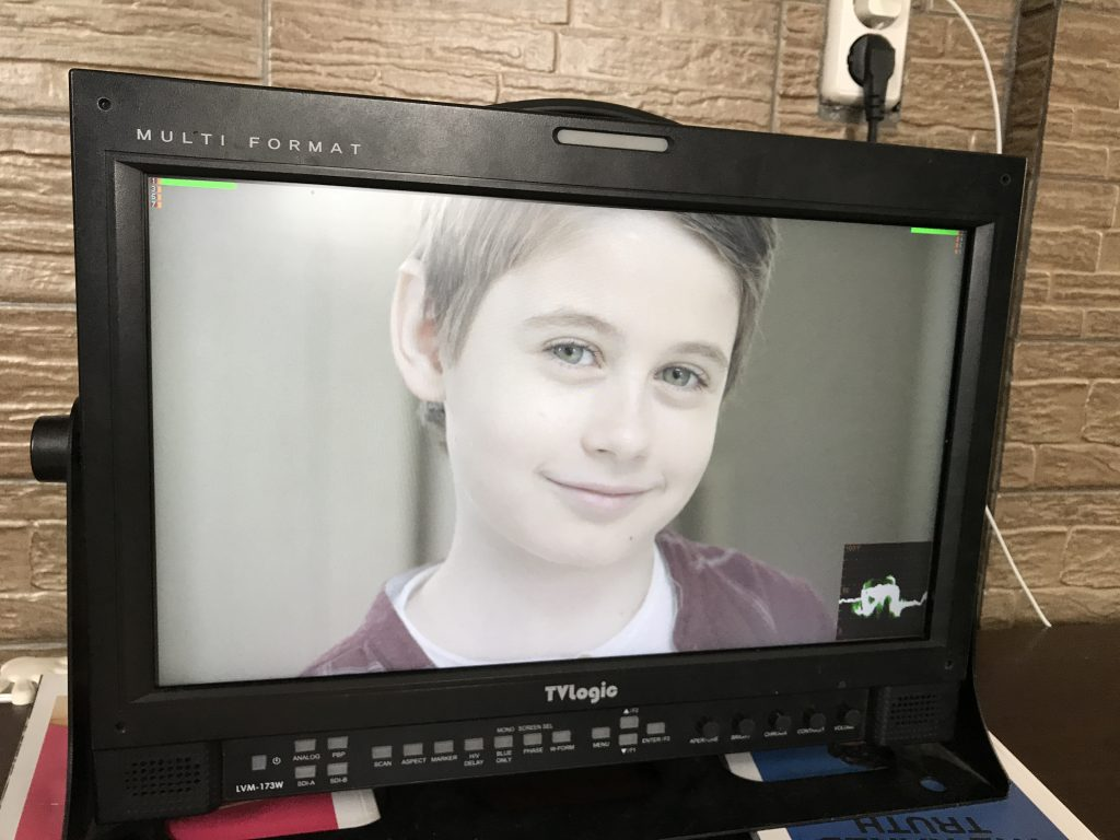 Съемка рекламного ролика про детей