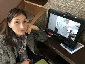 Съемка рекламного ролика про детей - режиссер Анастасия Пастори